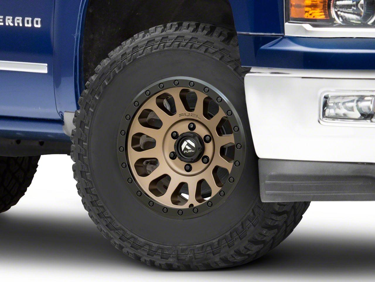 Fuel Wheels Vector Bronze 6-Lug Wheel - 17x8.5 (99-18 Silverado 1500)