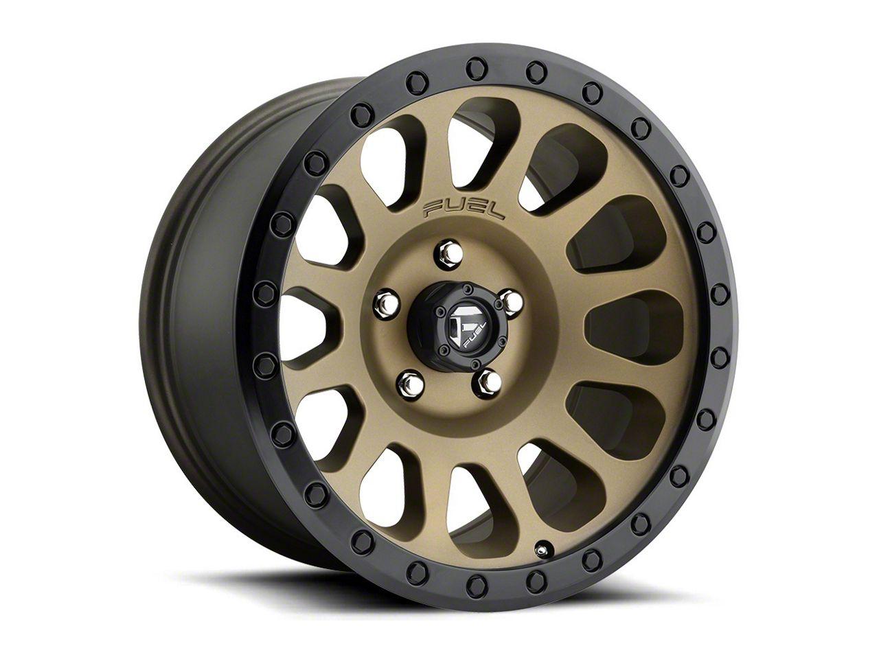 Fuel Wheels Vector Bronze 6-Lug Wheel - 20x10 (99-18 Silverado 1500)