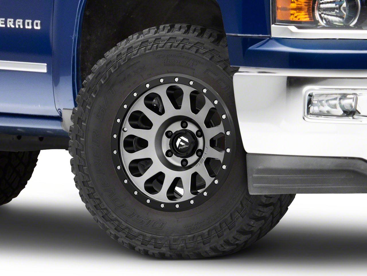 Fuel Wheels Vector Gun Metal 6-Lug Wheel - 18x9 (99-18 Silverado 1500)