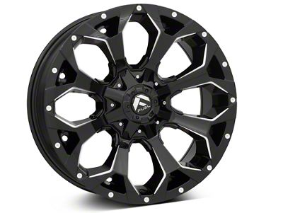 Fuel Wheels Assault Gloss Black 6-Lug Wheel - 20x9 (99-19 Silverado 1500)