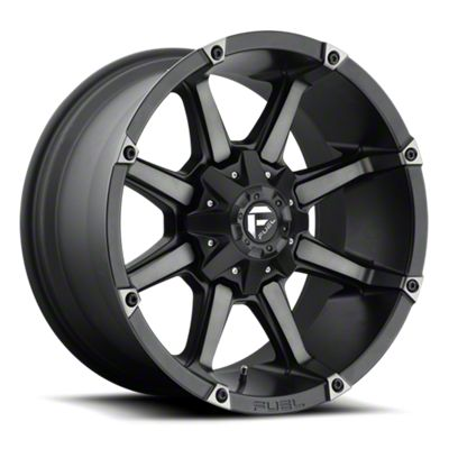 Fuel Wheels Coupler Black Machined 6-Lug Wheel - 20x9 (99-18 Silverado 1500)
