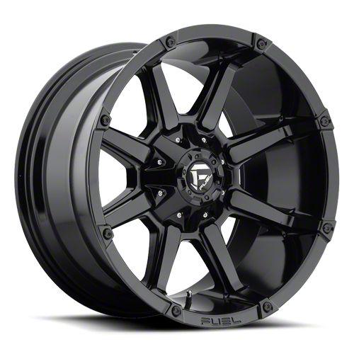 Fuel Wheels Coupler Gloss Black 6-Lug Wheel - 20x10 (99-18 Silverado 1500)