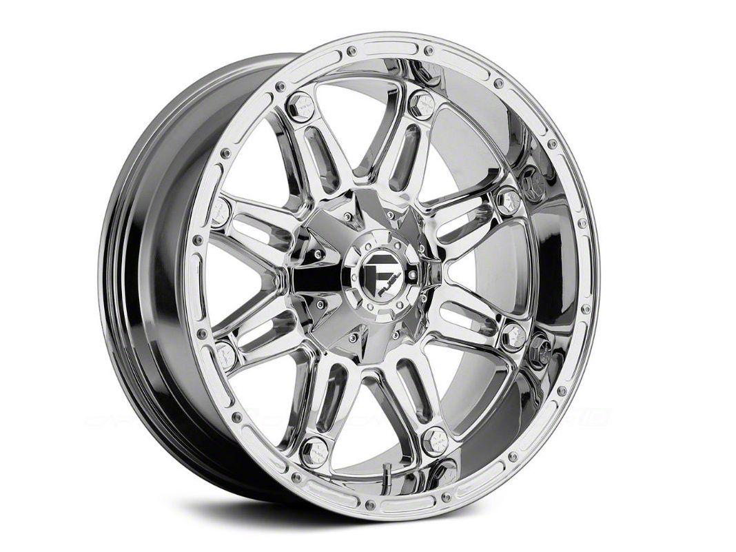 Fuel Wheels Hostage Chrome 6-Lug Wheel - 17x8.5 (99-18 Silverado 1500)