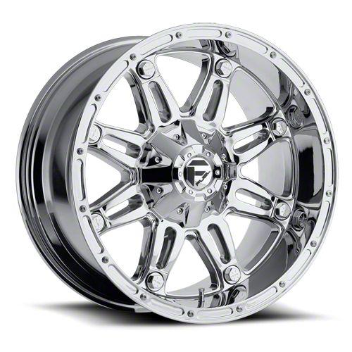 Fuel Wheels Hostage Chrome 6-Lug Wheel - 20x10 (99-18 Silverado 1500)