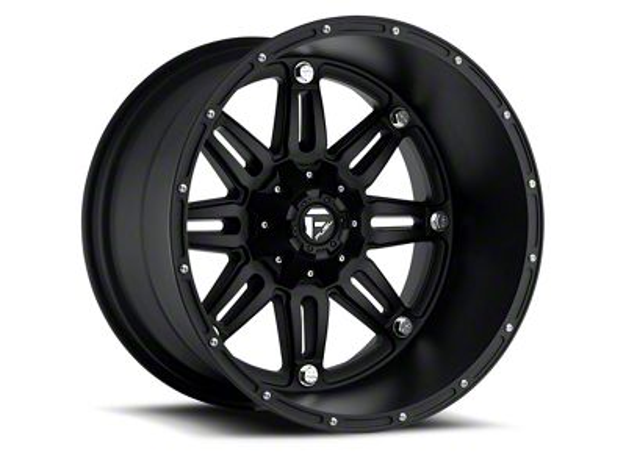 Fuel Wheels Hostage Matte Black 6-Lug Wheel - 20x9 (99-18 Silverado 1500)