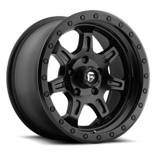 Fuel Wheels JM2 Matte Black 6-Lug Wheel - 20x9 (99-18 Silverado 1500)
