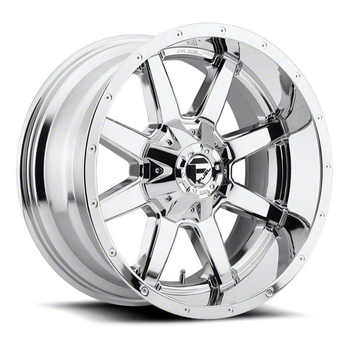 Fuel Wheels Maverick Chrome 6-Lug Wheel - 20x10 (99-18 Silverado 1500)