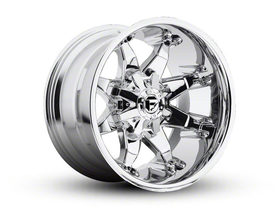 Fuel Wheels Octane Chrome 6-Lug Wheel - 22x10 (99-18 Silverado 1500)