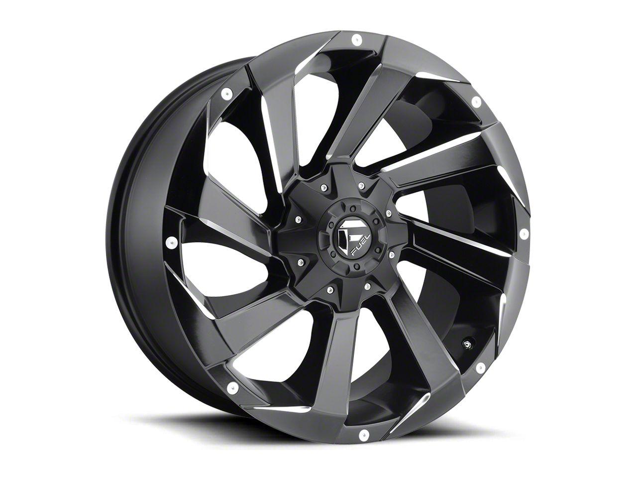 Fuel Wheels Razor Matte Black Milled 6-Lug Wheel - 20x9 (99-18 Silverado 1500)