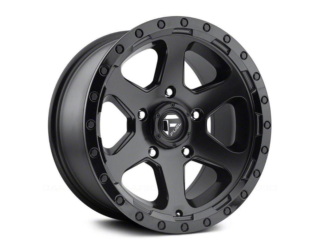 Fuel Wheels Ripper Matte Black 6-Lug Wheel - 18x9 (99-18 Silverado 1500)