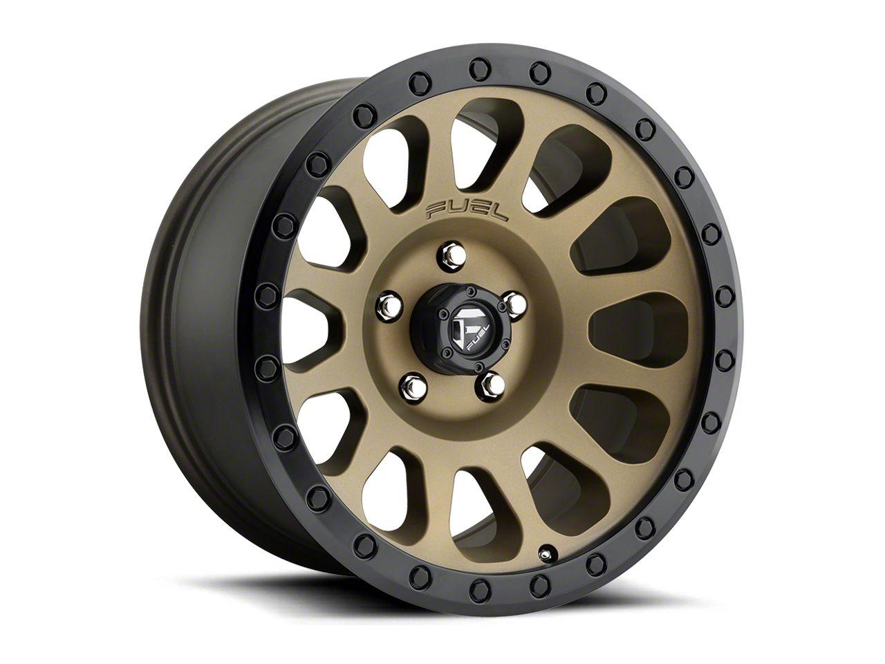 Fuel Wheels Vector Bronze 6-Lug Wheel - 20x9 (99-18 Silverado 1500)