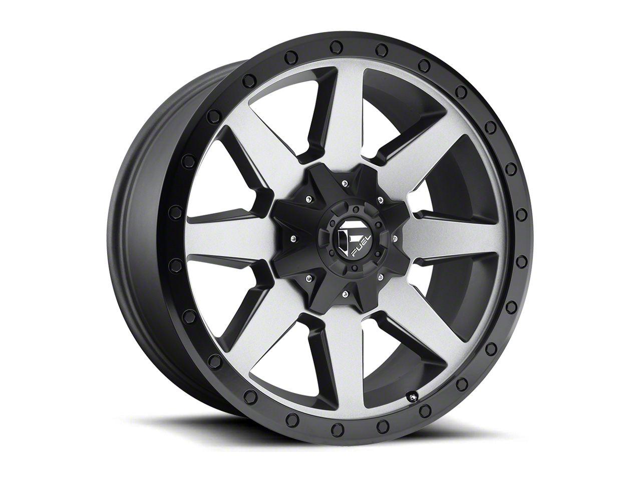 Fuel Wheels Wildcat Gun Metal 6-Lug Wheel - 20x9 (99-18 Silverado 1500)