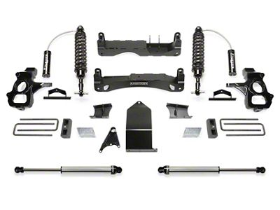 Fabtech 4 in. Performance Lift Kit w/ Dirt Logic 2.5 Coil-Overs & Dirt Logic Shocks (14-18 Silverado 1500 Double Cab, Crew Cab)