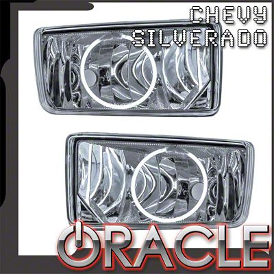 Oracle OE Style LED Halo Fog Lights (07-13 Silverado 1500)