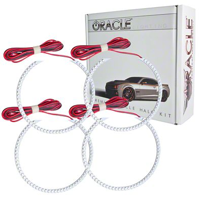 Oracle LED Round Style Headlight Halo Conversion Kit (07-13 Silverado 1500)