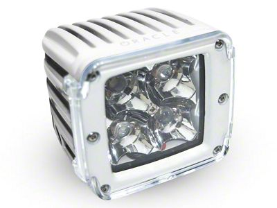 Oracle 3 in. Off-Road Series Square LED Light w/ Clear Lens - Spot Beam