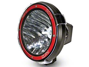 Oracle 9 in. Off-Road Series A10 35W Round HID Xenon Light - Flood Beam
