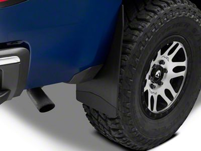 Husky 12 in. Wide Mud Flaps - Black Weight (07-18 Silverado 1500)