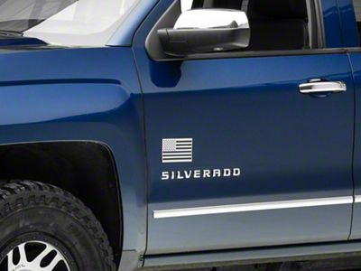 ACC Stainless Steel American Flag Emblem - Polished (99-18 Silverado 1500)