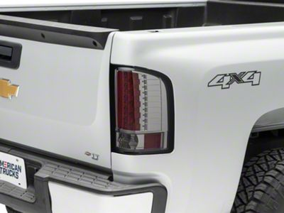 LED Tail Lights - Smoked (07-13 Silverado 1500)