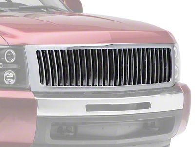 Vertical Upper Replacement Grille - Chrome (07-13 Silverado 1500)