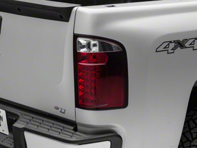 LED Tail Lights - Red (07-13 Silverado 1500)