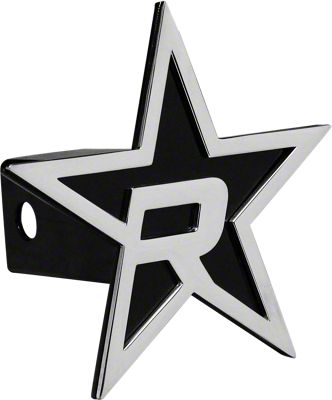 RBP Black/Chrome Star Hitch Cover (99-18 Silverado 1500)