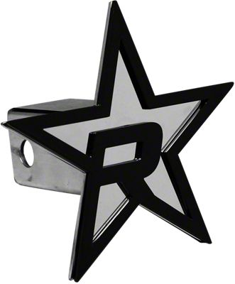 RBP Chrome/Black Star Hitch Cover (99-18 Silverado 1500)