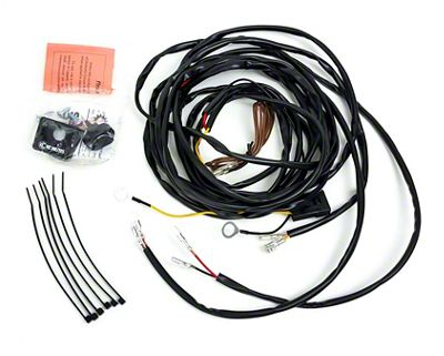 KC HiLiTES Wiring Harness for 2 Cyclone LED Lights