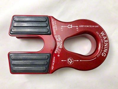 Factor 55 Flat Splicer for Synthetic Winch Lines - Red
