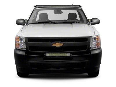 ZRoadz 30 in. LED Light Bar Bumper Mounting Brackets (07-13 Silverado 1500)