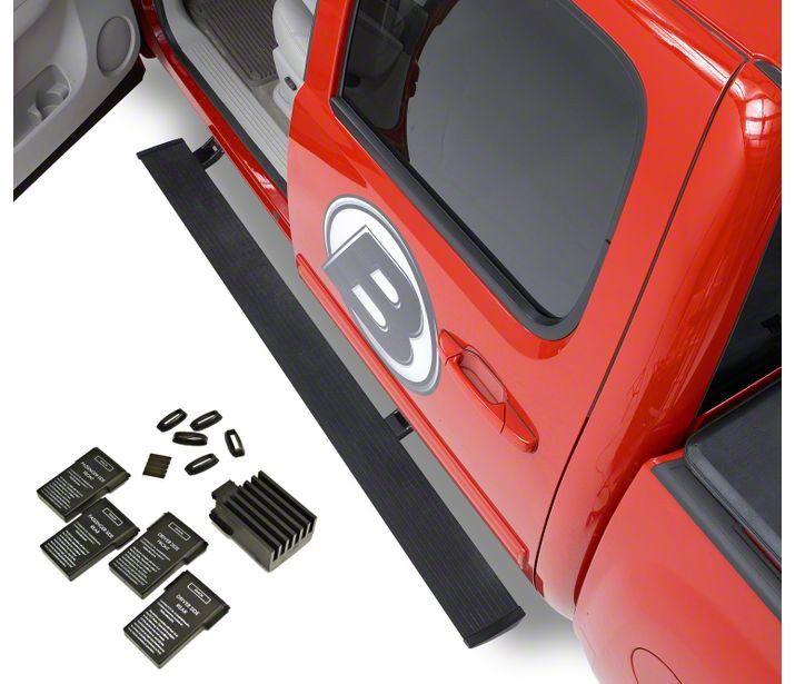 Bestop Powerboard NX Automatic Running Boards (07-13 Silverado 1500 Extended Cab, Crew Cab)
