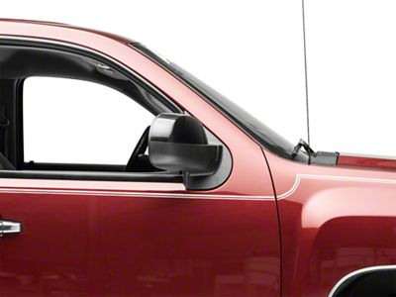 OPR Powered Heated Power Folding Mirror - Black (07-11 Silverado 1500)