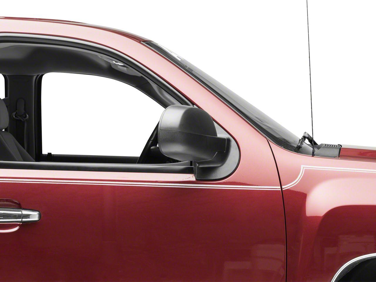 OPR Manual Foldaway Mirror - Textured Black (07-13 Silverado 1500)