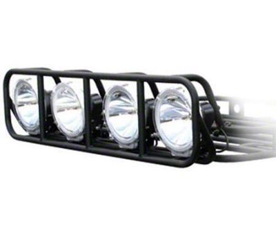 Smittybilt Defender Roof Rack Light Cage (99-18 Silverado 1500)