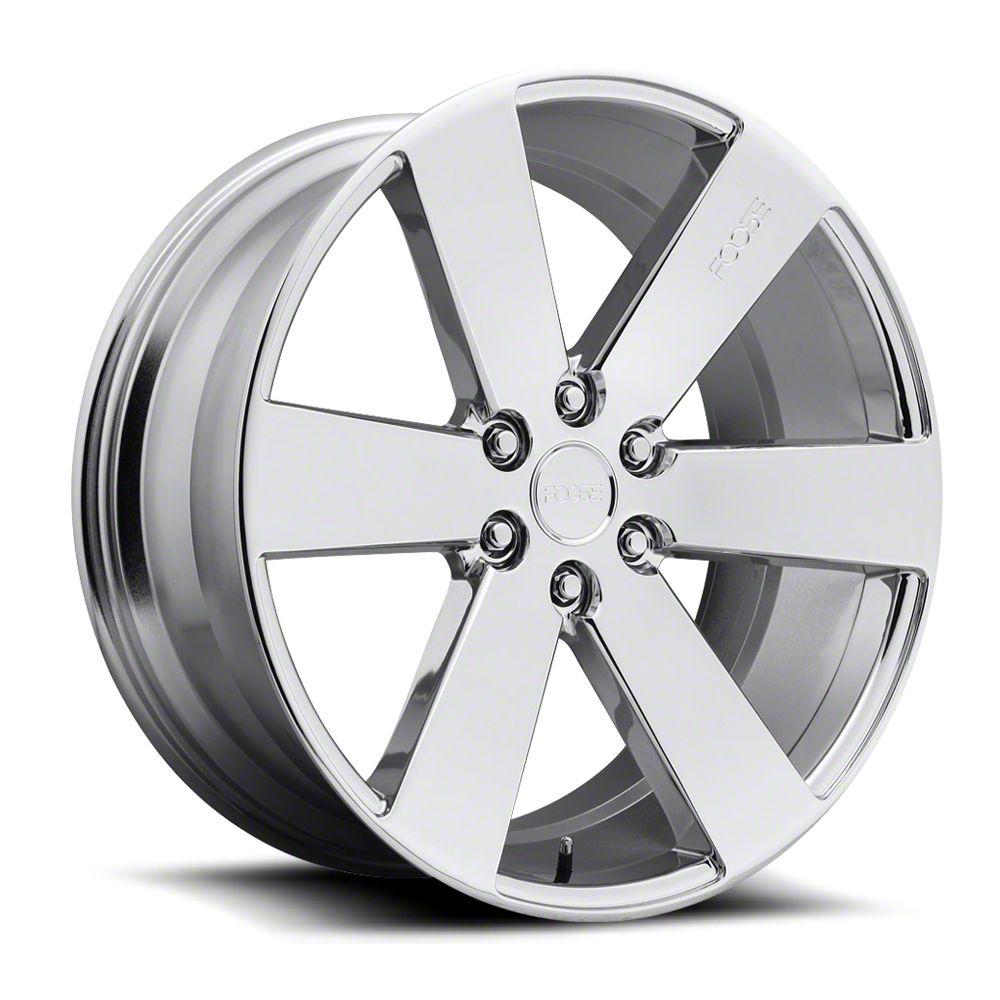 Foose Switch Chrome 6-Lug Wheel - 20x9.5 (99-18 Silverado 1500)