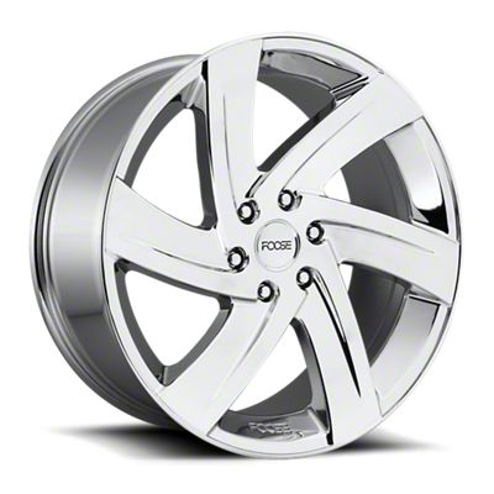 Foose Bodine Chrome 6-Lug Wheel - 22x9.5 (99-18 Silverado 1500)
