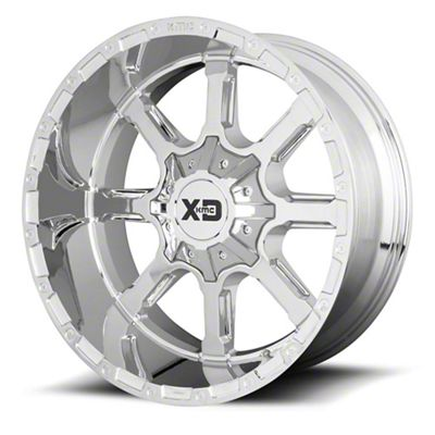 XD Mammoth Chrome 6-Lug Wheel - 22x10 (99-18 Silverado 1500)