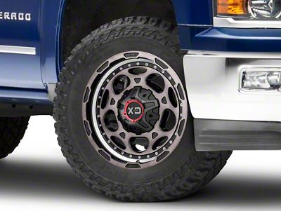 XD DemoDog Satin Black 6-Lug Wheel - 20x9 (99-18 Silverado 1500)