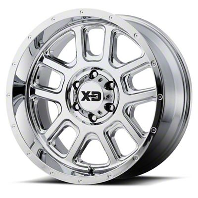 XD Delta Chrome 6-Lug Wheel - 20x12 (99-18 Silverado 1500)