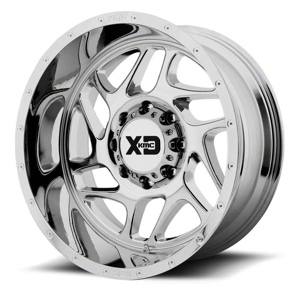 XD Fury Chrome 6-Lug Wheel - 22x10 (99-19 Silverado 1500)