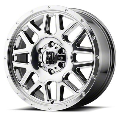 XD Grenade Chrome 6-Lug Wheel - 22x10 (99-18 Silverado 1500)