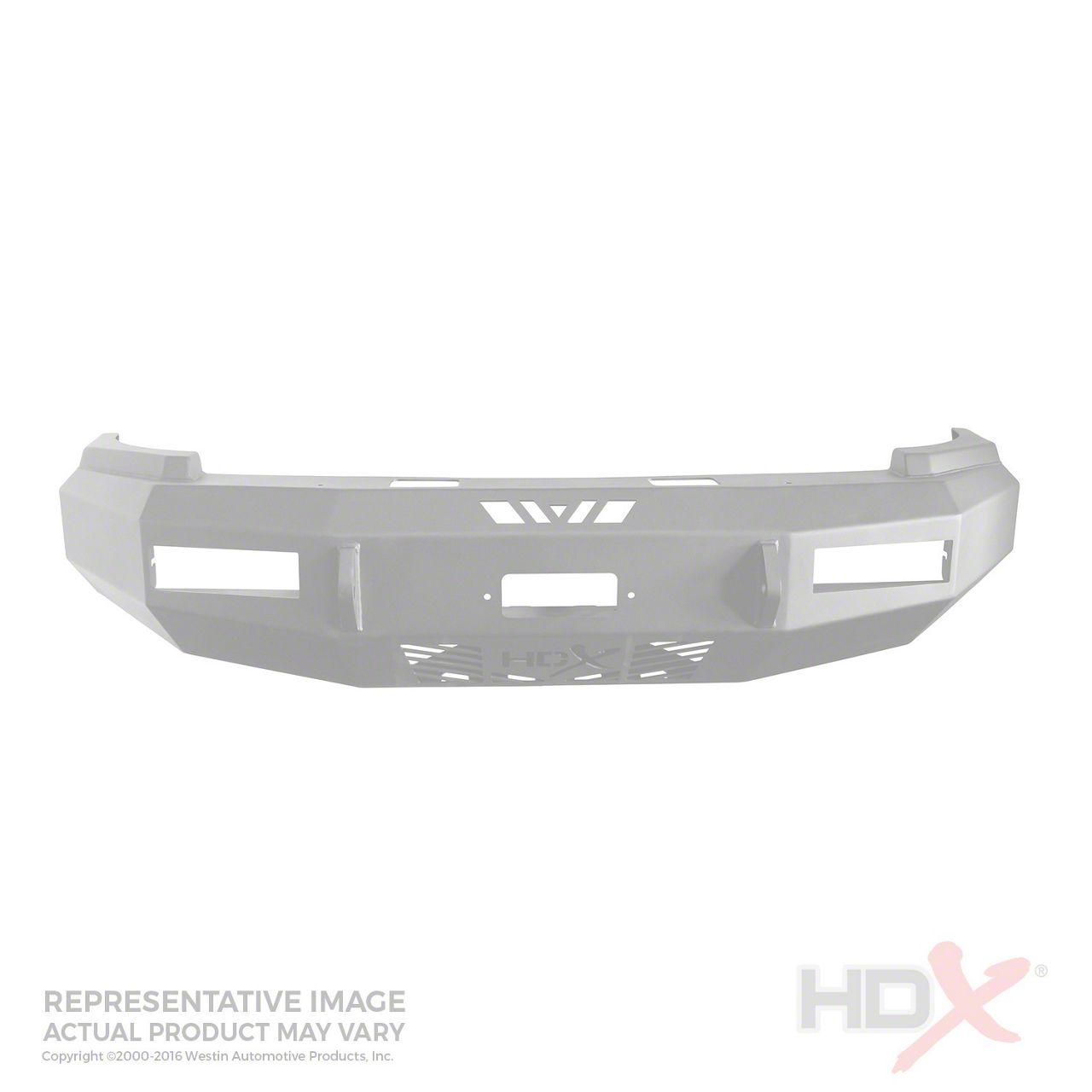 Westin HDX Front Bumper - Raw (16-18 Silverado 1500)