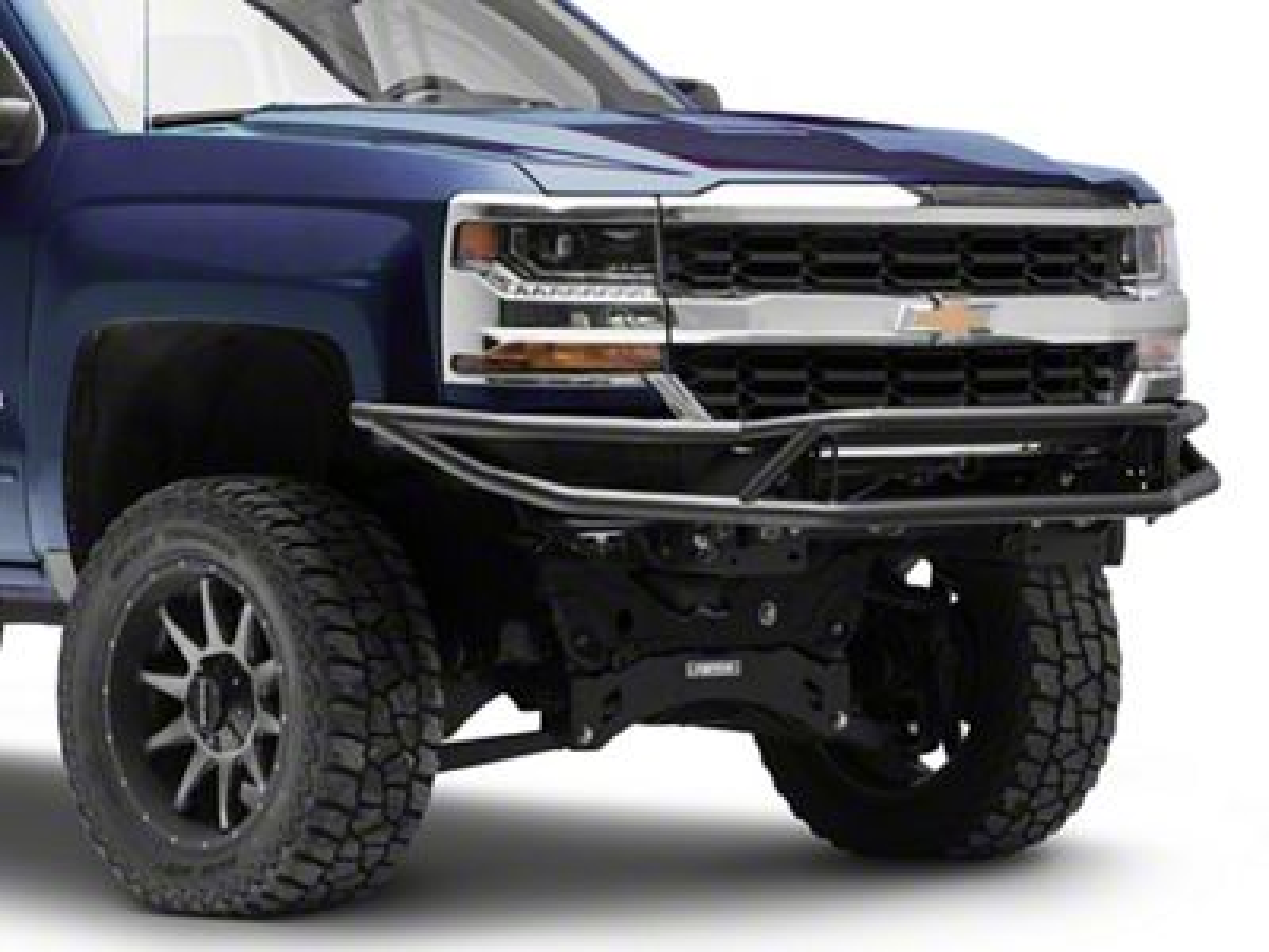 Westin Outlaw Front Bumper - Textured Black (16-18 Silverado 1500)