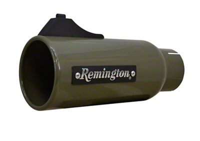 Remington Off-Road 4 in. Open Sight Exhaust Tip - OD Green - 2.5 in. Connection (99-18 Silverado 1500)