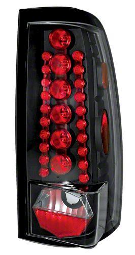 Alteon Bermuda Black LED Tail Lights (99-06 Silverado 1500 Fleetside)