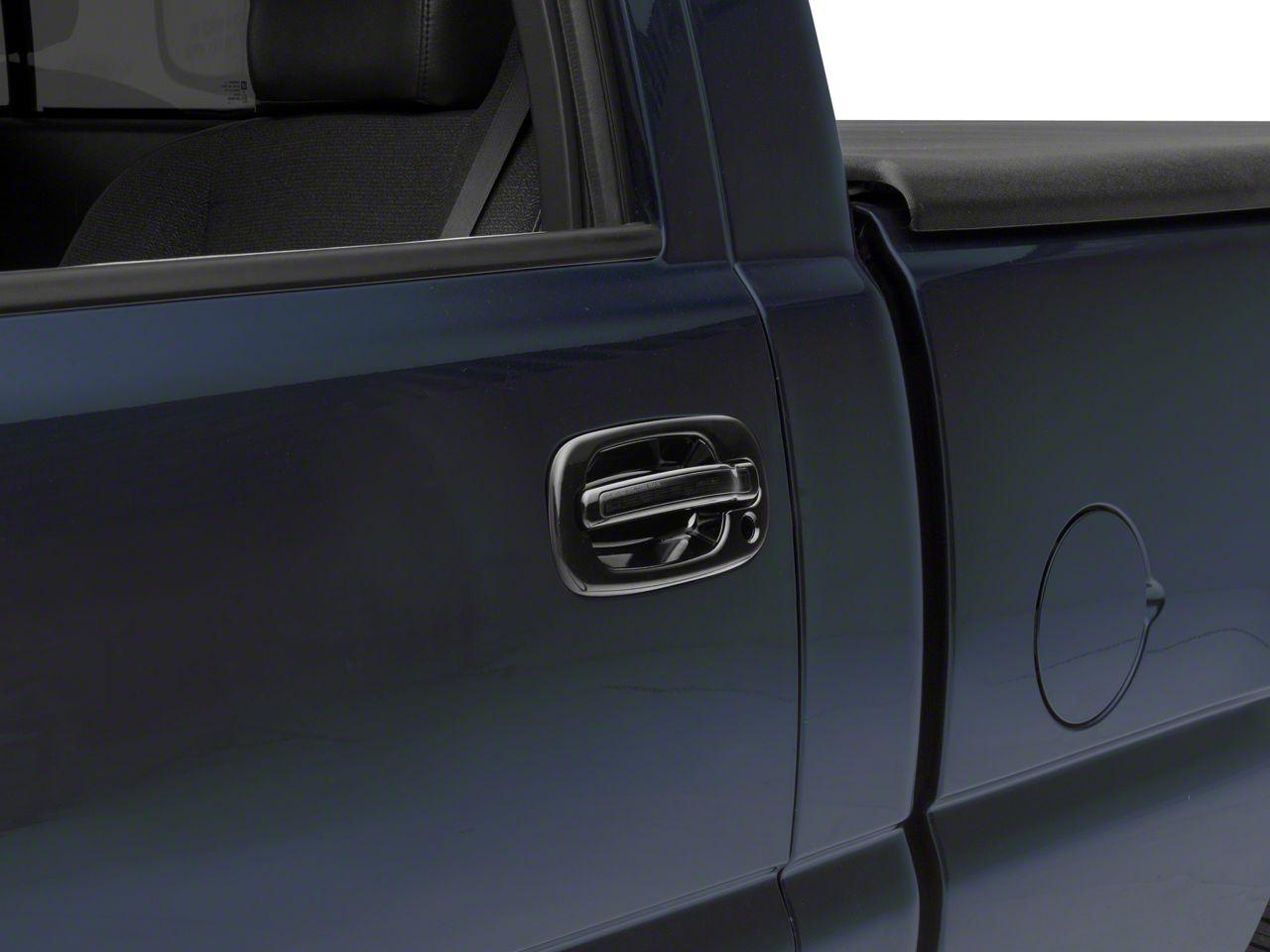 Alteon Front Black Door Handles w/ Red LED & Smoked Lens (99-06 Silverado 1500)