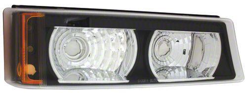 Axial Bermuda Black Front Park Signal Lamps (03-06 Silverado 1500)
