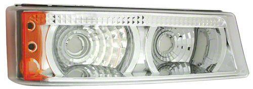 Alteon Crystal Clear Front Park Signal Lamps (03-06 Silverado 1500)