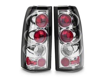 Axial Chrome Euro Style Tail Lights (03-06 Silverado 1500 Fleetside)